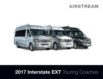2017 Airstream Interstate EXT Touring Coaches Brochure