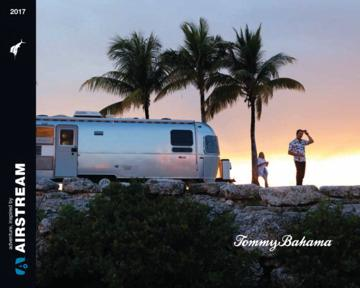 2017 Airstream Tommy Bahama Travel Trailer Brochure