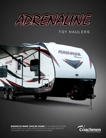 2017 Coachmen Adrenaline Brochure