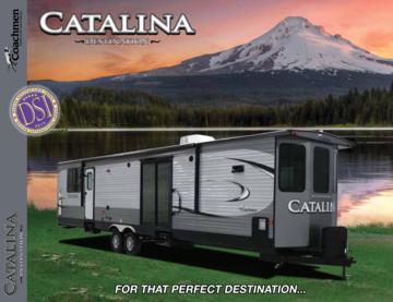 2017 Coachmen Catalina Destination Brochure