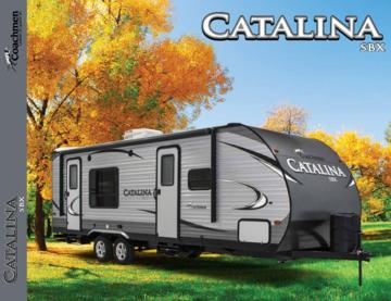 2017 Coachmen Catalina SBX French Brochure