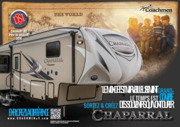 2017 Coachmen Chaparral French Brochure