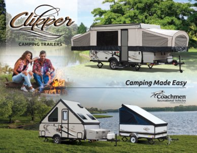 2017 Coachmen Clipper Camping Trailer Brochure page 1