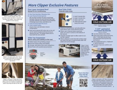 2017 Coachmen Clipper Camping Trailer Brochure page 3