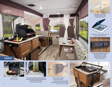 2017 Coachmen Clipper Camping Trailer Brochure page 4