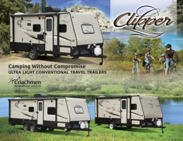 2017 Coachmen Clipper Travel Trailer Brochure