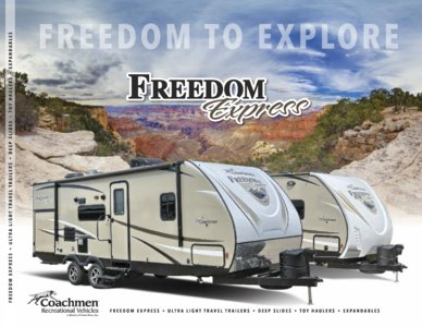 2017 Coachmen Freedom Express Brochure page 1