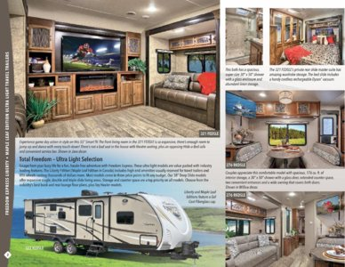 2017 Coachmen Freedom Express Brochure page 2