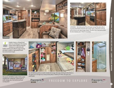 2017 Coachmen Freedom Express Brochure page 3