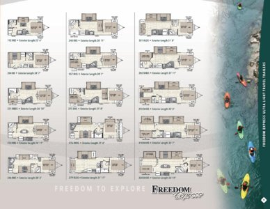 2017 Coachmen Freedom Express Brochure page 9