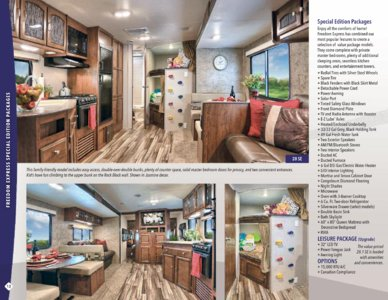 2017 Coachmen Freedom Express Brochure page 12