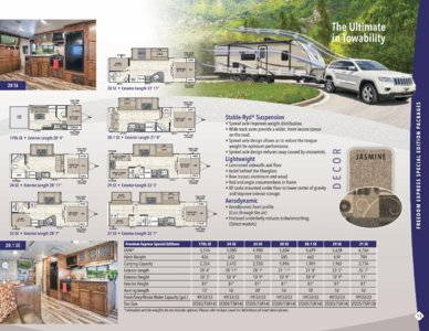 2017 Coachmen Freedom Express Brochure page 13
