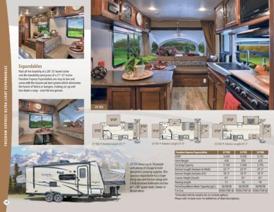 2017 Coachmen Freedom Express Brochure page 14