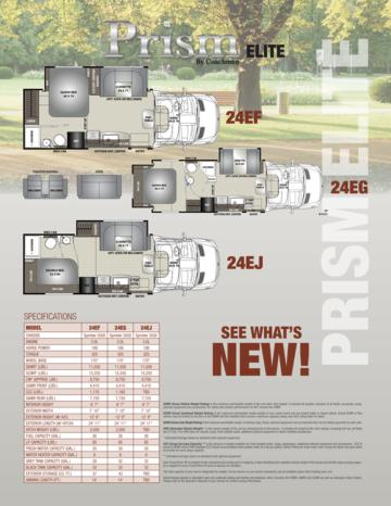 2017 Coachmen Prism Elite Brochure