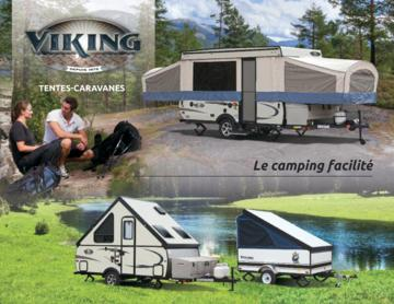 2017 Coachmen Viking Camping Trailer French Brochure