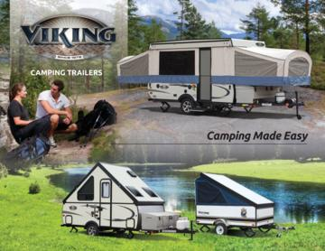 2017 Coachmen Viking Camping Trailer Brochure