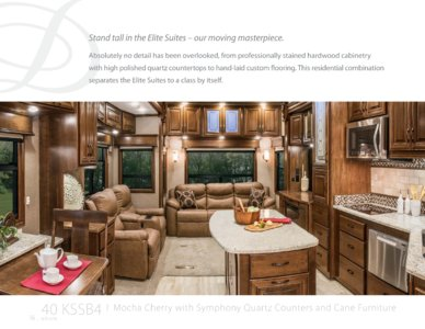 2017 DRV Luxury Suites Mobile Elite Suites Brochure page 16