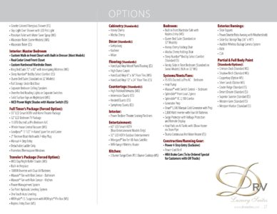 2017 DRV Luxury Suites Mobile Elite Suites Brochure page 27