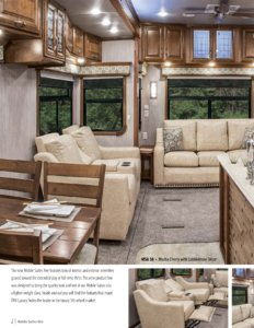 2017 DRV Luxury Suites Mobile Suites Aire Brochure page 2