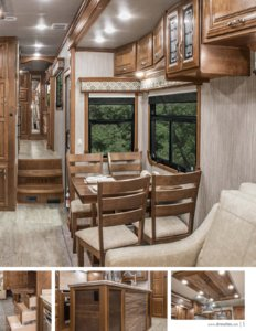 2017 DRV Luxury Suites Mobile Suites Aire Brochure page 5