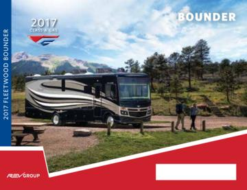 2017 Fleetwood Bounder Brochure