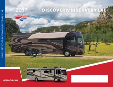 2017 Fleetwood Discovery Discovery Lxe Brochure