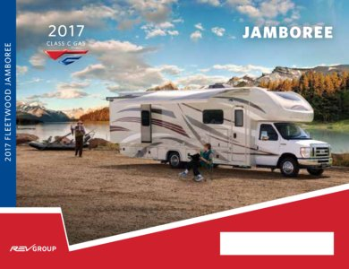 2017 Fleetwood Jamboree Brochure page 1
