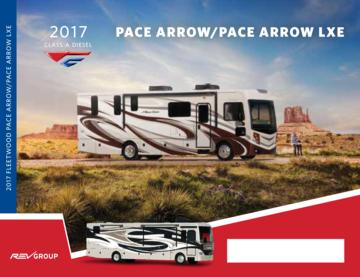 2017 Fleetwood Pace Arrow Pace Arrow Lxe Brochure