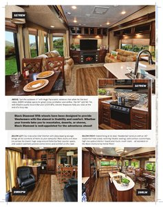 2017 Forest River Black Diamond Brochure page 2