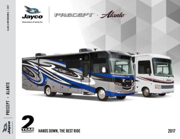 2017 Jayco Precept Brochure