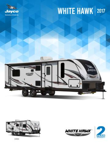 2017 Jayco White Hawk Brochure