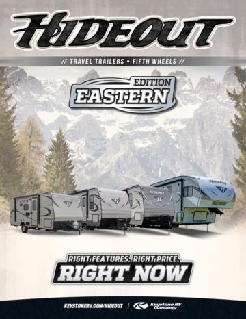2017 Keystone Rv Hideout Eastern Edition Brochure