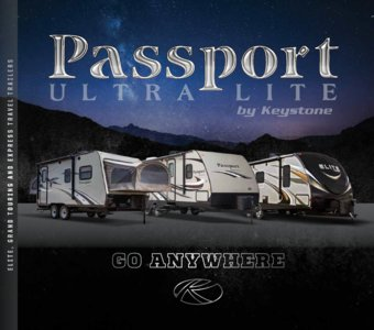 2017 Keystone RV Passport Brochure page 1
