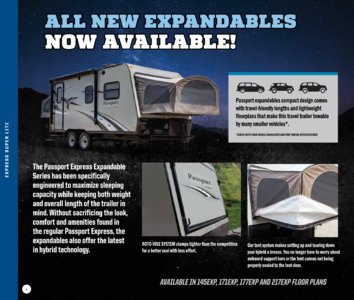 2017 Keystone RV Passport Brochure page 4