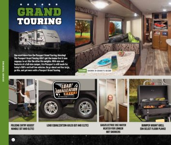 2017 Keystone RV Passport Brochure page 6