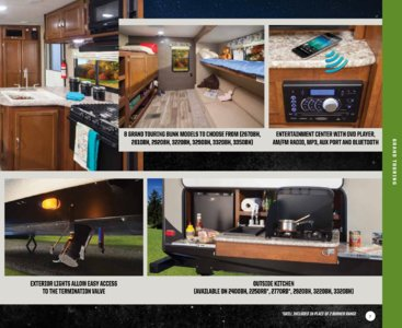 2017 Keystone RV Passport Brochure page 7