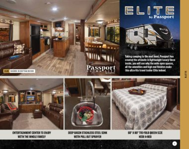 2017 Keystone RV Passport Brochure page 9