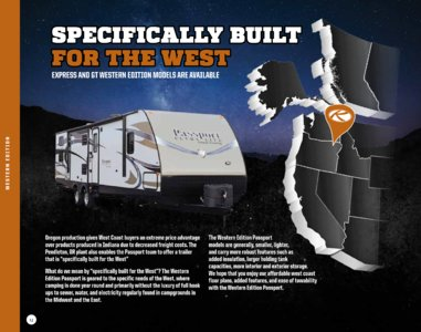 2017 Keystone RV Passport Brochure page 12