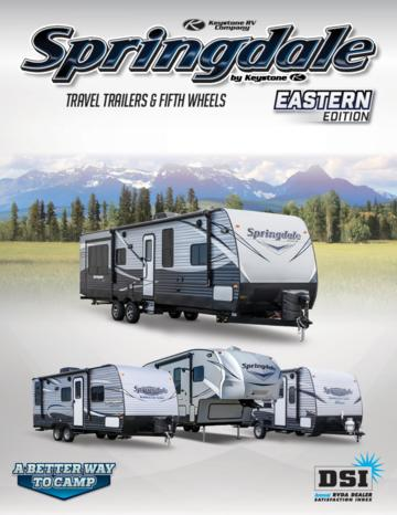 2017 Keystone RV Springdale Eastern Edition Brochure