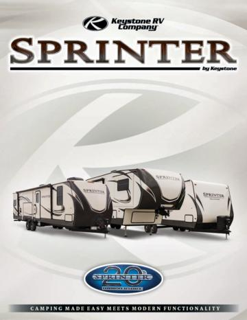 2017 Keystone RV Sprinter Brochure