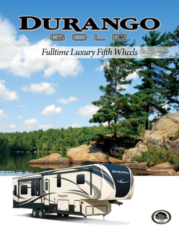 2017 KZ RV Durango Gold Brochure