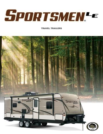 2017 KZ RV Sportsmen LE Brochure