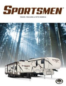 2017 KZ RV Sportsmen Brochure page 1