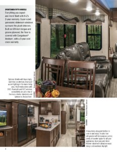 2017 KZ RV Sportsmen Brochure page 4
