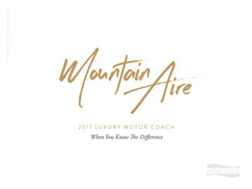 2017 Newmar Mountain Aire Brochure