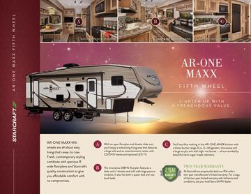 2017 Starcraft Fall AR-One Maxx Fifth Wheel Brochure