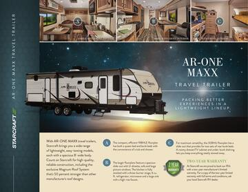2017 Starcraft Fall AR-One Maxx Travel Trailer Brochure