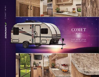 2017 Starcraft Fall Comet Mini Travel Trailer Brochure page 1