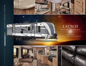 2017 Starcraft Fall Launch Grand Touring Travel Trailer Brochure