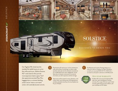 2017 Starcraft Fall Solstice Fifth Wheel Brochure page 1